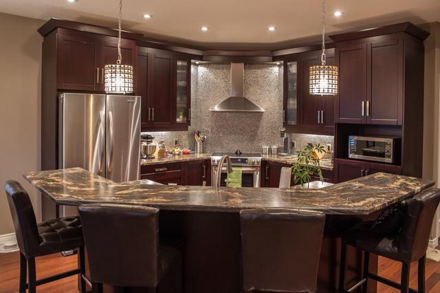 Hansen - Contemporary - Kitchen - Toronto - by Allen Interiors - kitchen design center