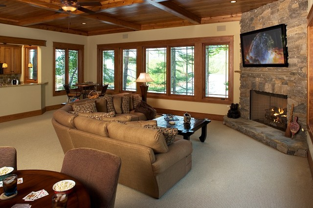 Modern Corner Sofas For Small Rooms Rustic Family Room