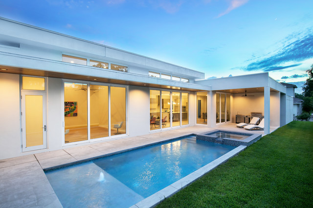 Rivetta Modern Pools Tampa Von April Balliette - Outdoor Vorhänge Lutz