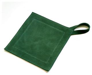 Genuine Leather Suede Kitchen Heat Protectors