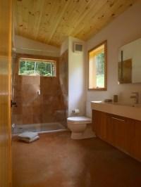 Modern Cabin - Contemporary - Bathroom - Burlington - by ...
