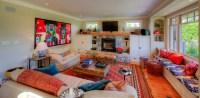 Bohemian Beach House - Beach Style - Living Room ...