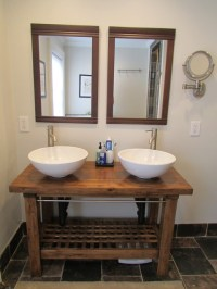 Ikea hack: kitchen island to a vanity - Contemporary ...