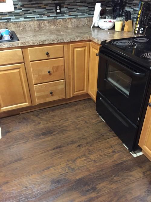 New Wood Flooring In Kitchen