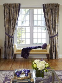 Traditional Living Room with modern accents - Traditional ...