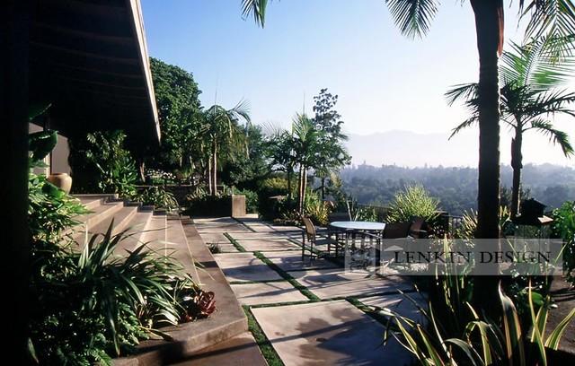 Mid-Century Modern Patio - Modern - Landscape - Los Angeles - By