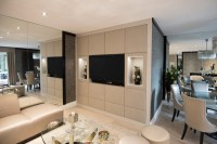 Media center - Modern - Living Room - London - by Fitted ...