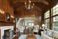 Woodland Addition & Renovation - Traditional - Living Room ...