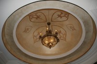 dome ceiling - Traditional - Living Room - Charlotte - by ...