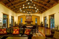 Rustic Hacienda Style Texas Ranch - Southwestern - Living ...