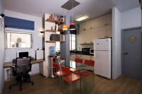 Small Bachelor Apartment - Contemporary - Kitchen - Tel ...
