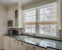 Kitchen Window Treatments Roman Shades - Frasesdeconquista ...