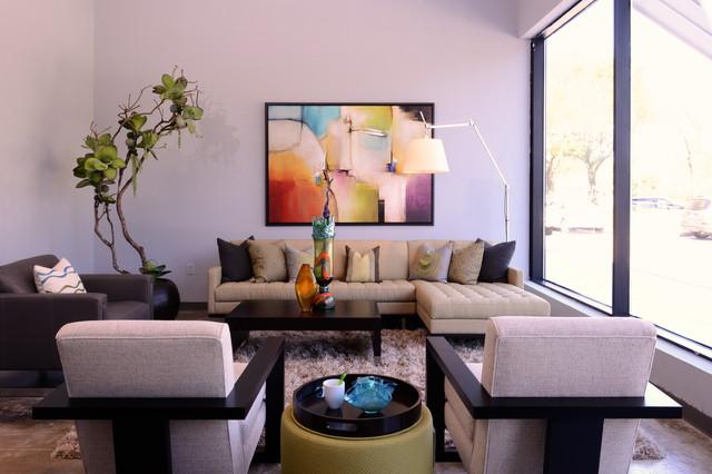 Cantoni Houston Showroom - Modern - Living Room - Houston - by Cantoni - living room furniture houston