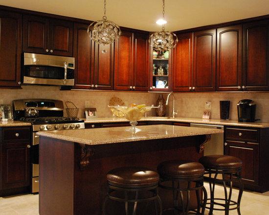 traditional eat kitchen design photos dark wood cabinets small eat kitchen design photos dark wood cabinets