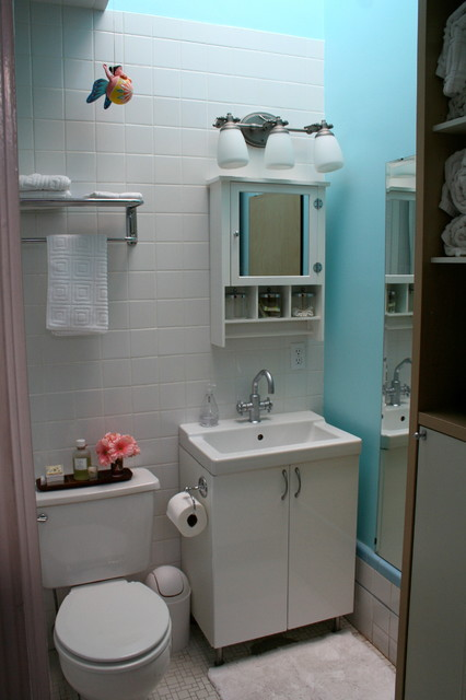 Houzz Bathroom Ideas Houzz Tour: Small Eclectic San Francisco Family Home