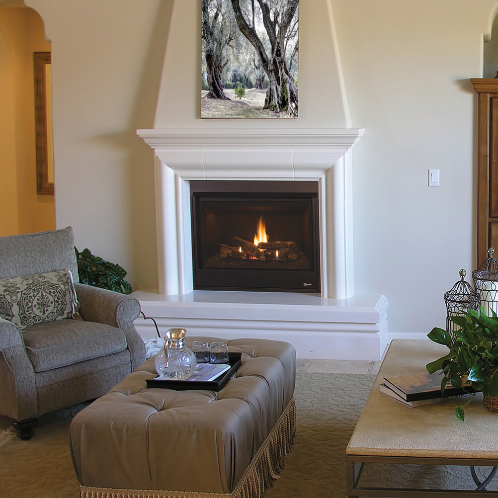 Drt3000 Traditional Gas Fireplace By Superior Traditional Living Room Orange County By Superior Fireplaces
