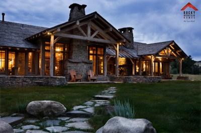Riverside Rustic - Rocky Mountain Homes - Rustic - Exterior - other metro - by Rocky Mountain Homes