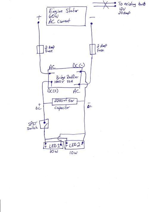 king snow plow wiring diagram looking for feedback on adding led