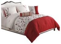 Sadie 5-Piece Comforter Set - Transitional - Comforters ...