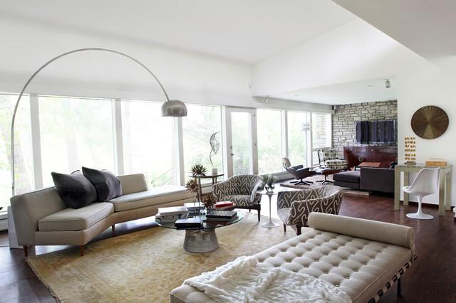 Mid Century Modern Masterpiece - Midcentury - Living Room - St - mid century modern living room