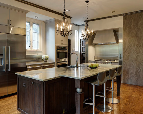contemporary shaped eat kitchen design ideas remodels photos type kitchen dining