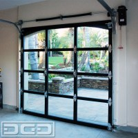 Full-View Glass & Metal Garage Doors for a Spanish ...