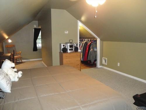 Master bedroom non dormered attic ideas