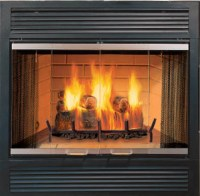 Majestic SR Sovereign Wood-Burning Fireplace - Modern ...
