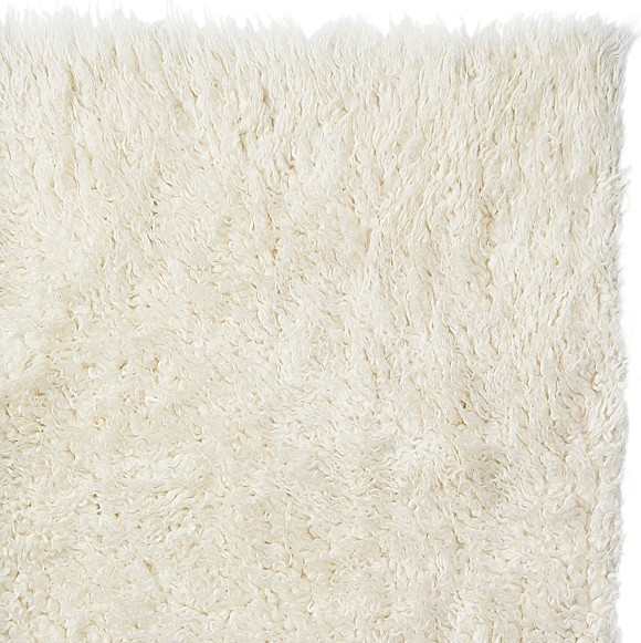 Alfombras Flokati Pure Eco-friendly Wool Flokati Shag Rug - Contemporary