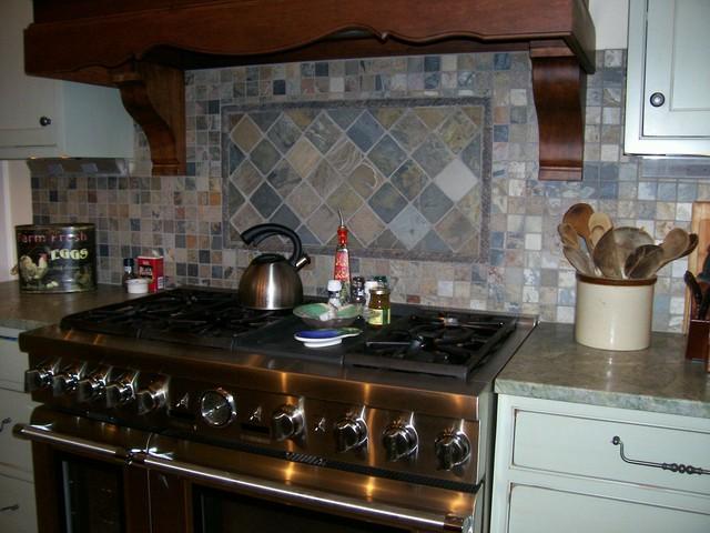 tile backsplash country kitchen custer homes patchwork backsplash country style kitchen ideas homestead