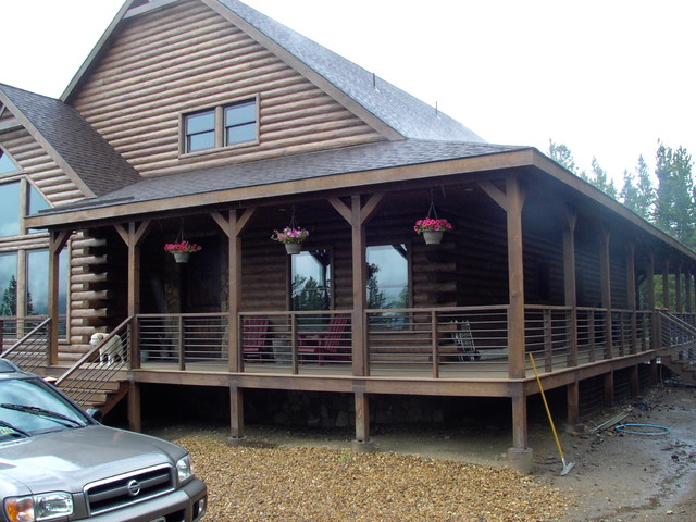 Custom Home In Black Hawk - Rustic - Porch - Other - By R.M. Hale