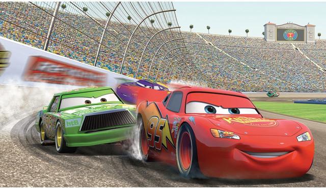 Disney Pixar Cars Mural Wallpaper York Wallcoverings Disney Cars Lightning Mcqueen