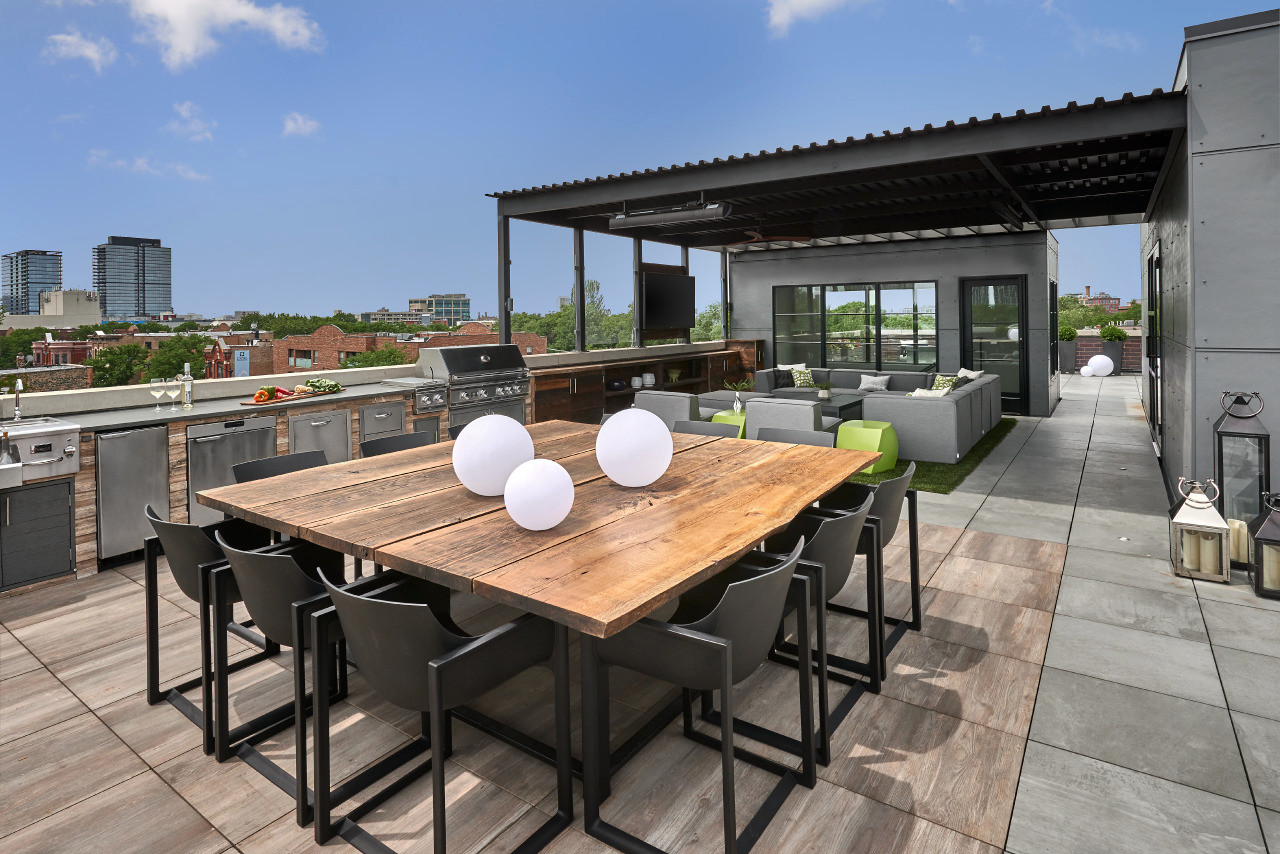 Adam Bresnick 75 Beautiful Rooftop Design With An Awning Pictures Ideas