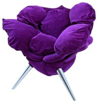 Rose Chair, Purple - Eclectic - Armchairs And Accent ...