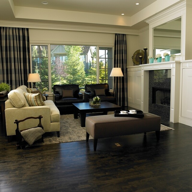 Modern Country Interiors Furniture \ Design - Traditional - Living - modern country living room