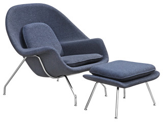 Modern Contemporary Design Living Accent Lounge Chair And