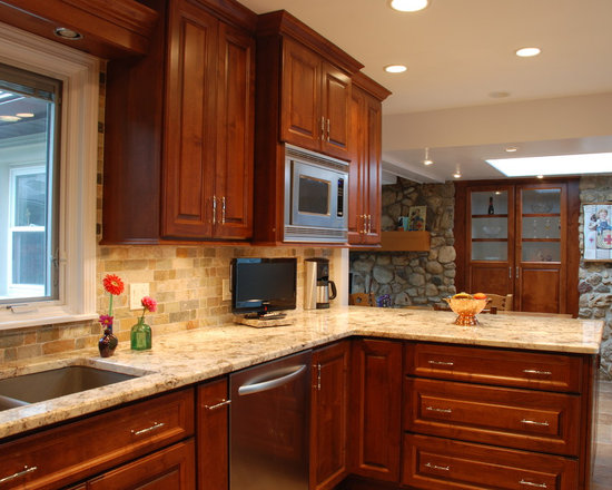 rustic shaped kitchen design photos peninsula rustic kitchen design ideas remodel pictures houzz