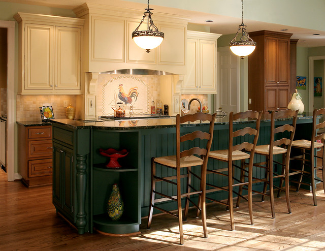 Pictures Of Refaced Kitchen Cabinets Country Kitchen & Bath - Rustic - Kitchen - Portland - By