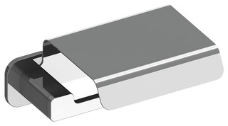 Deva 3141 Chrome Toilet Paper Holder Contemporary