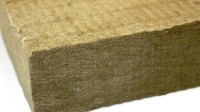 Gas fireplace embers - can you use wall insulation rockwool?