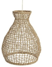 Woven Seagrass Pendant - Tropical - Pendant Lighting