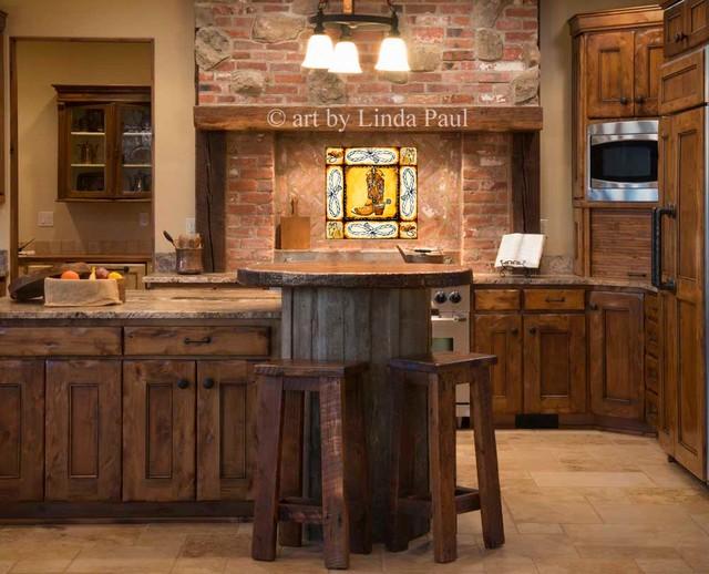 country kitchen cowboy backsplash tiles rustic kitchen rustic kitchen backsplash tile