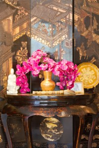 French Colonial Living Room - Traditional - los angeles ...