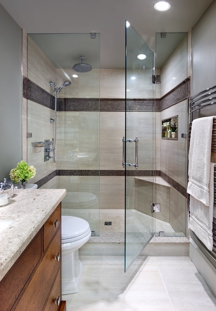 Houzz Showers Jane Lockhart, Bathroom Mission Style - Contemporary