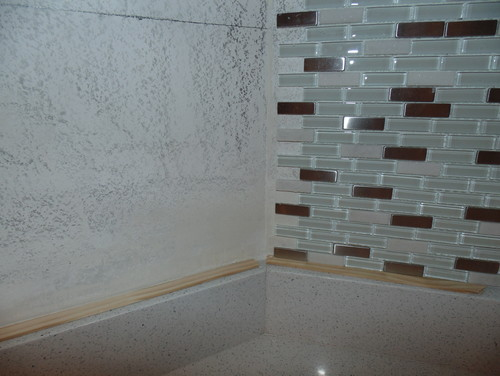 1 8 Grout Line Install Mosaic Tiles On Interior At 22.5 Degrees Interior