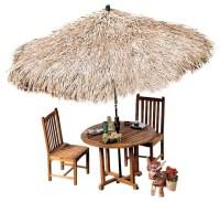 Tropical Thatch Umbrella Cover - Tropical - Outdoor ...