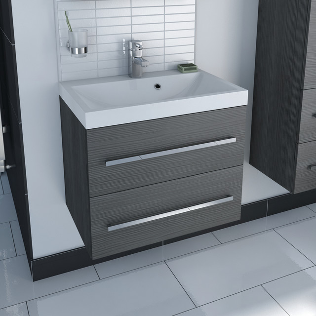 Unit amp inset basin contemporary bathroom vanity units and sink cabinets