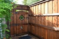 Wood Fence Door Design | Design Ideas