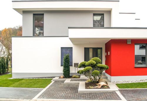 Fassade Modern Gestalten nzcen - fassadenfarbe haus