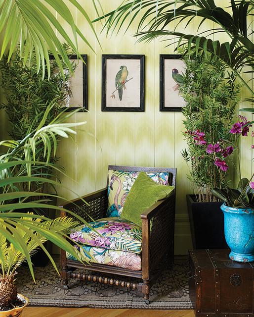 Englische Wohnzimmer Tapeten und Stoffe von Osborne \ Little - wohnzimmer kolonialstil